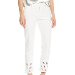Women's Nettle High Rise Cropped Straight Jeans